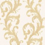 Roll Ornamental Wallpaper – Cream