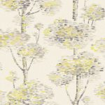 Abstract Tree Wallpaper – Yellow