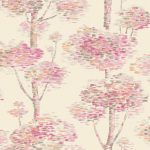 Abstract Tree Wallpaper – Pink