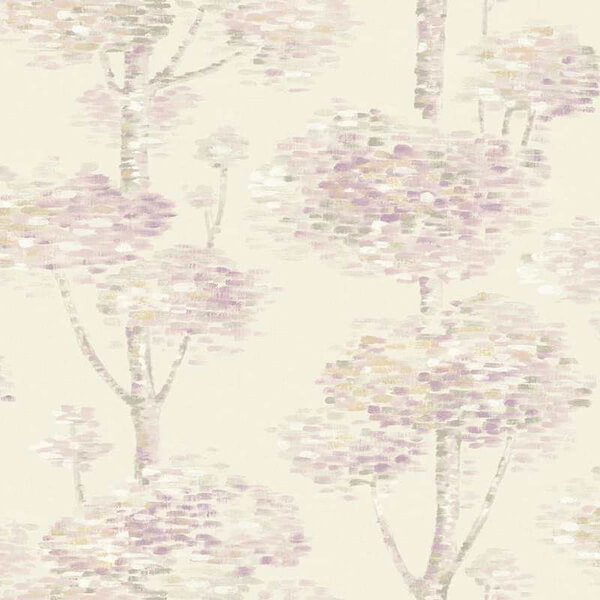 Abstract Tree Wallpaper – Cream