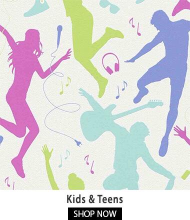 Teens Room Wallpaper - Bright,Wallpaper For Teens Room,Hyderabad