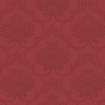 Damask Wallpaper - Red,Home Wallpaper,Room Wallpaper,Hyderabad