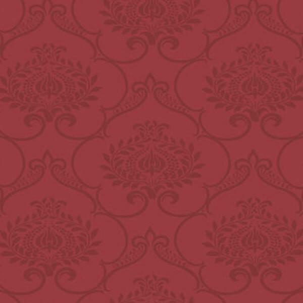 Damask Wallpaper – Red