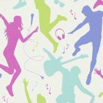 Musical Art Wallpaper – Bright