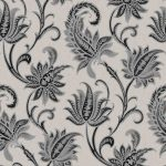 Floral Damask Wallpaper - Black,Wall Decor, Wallpaper For Room,Hyderabad