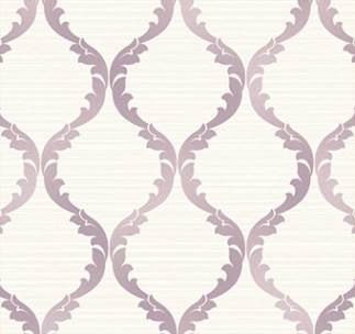 Classical Pattern Wallpaper – Lavender