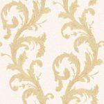 Roll Ornamental Wallpaper – Cream