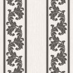 Floral Stripes Wallpaper - Brown,Floral Wallpaper,Hyderabad