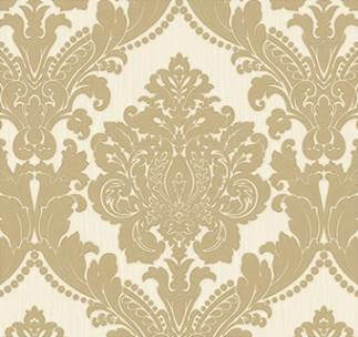 Classical Medieval Wallpaper – White