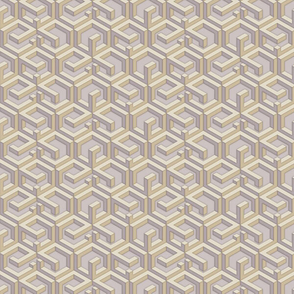 3D Maze wallpaper - Golden Violet,Hyderabad