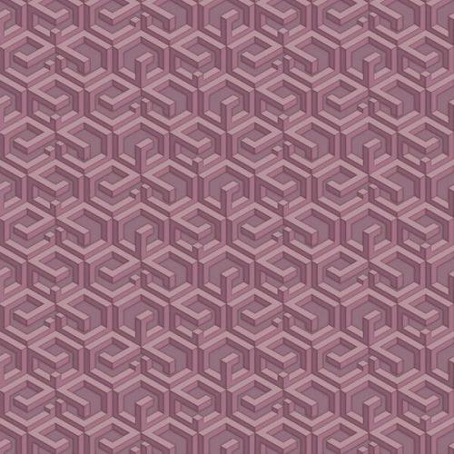 3D Maze Wallpaper – Brown