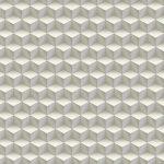 3D Cubes Wallpaper - Off White,3D Wall Decor,Hyderabad