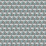 3D Cubes Wallpaper -Sea Green,Hydrabad