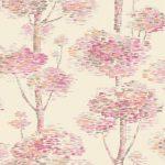 Abstract Tree Wallpaper - Pink