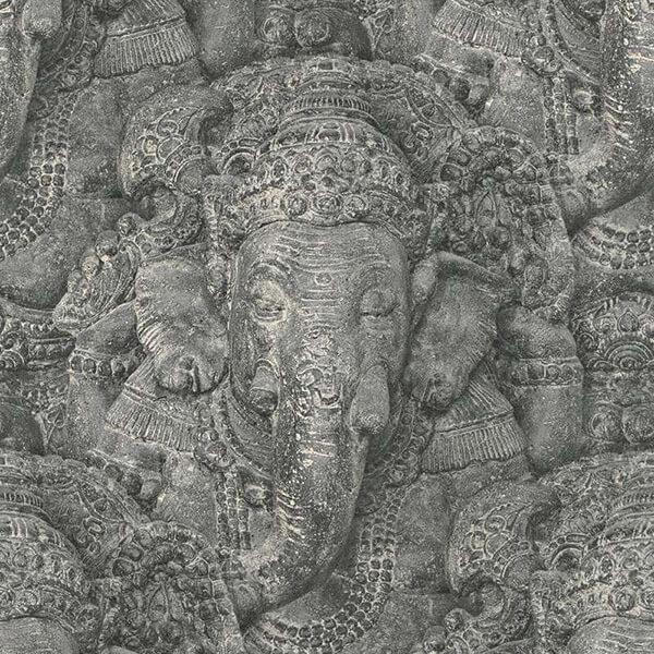 Ganesha Thematic Wallpaper – Dark