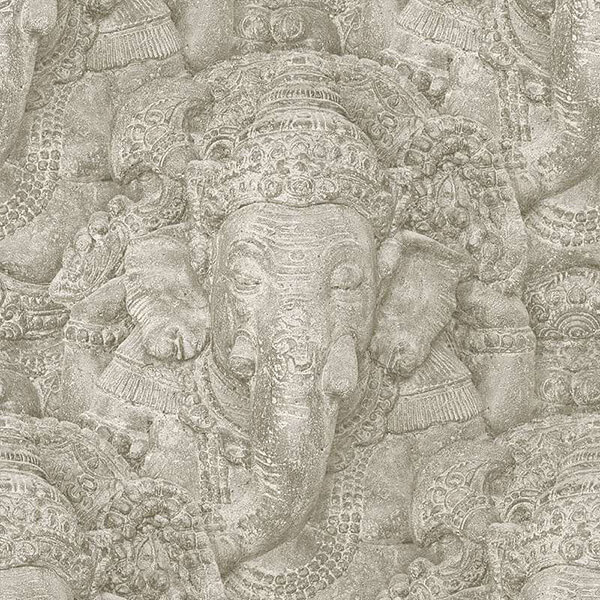 Ganesha Thematic Wallpaper - Bright,Antique Wallpaper,Hyderabad