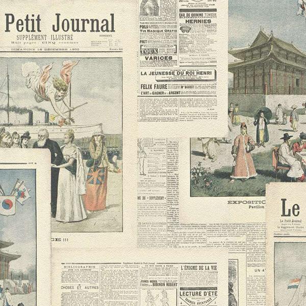 Newspaper Thematic Wallpaper – Light