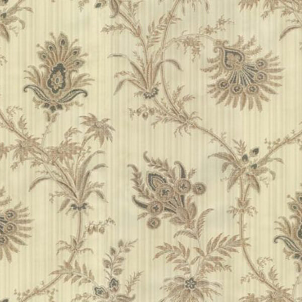 Floral Feather Wallpaper – Cream