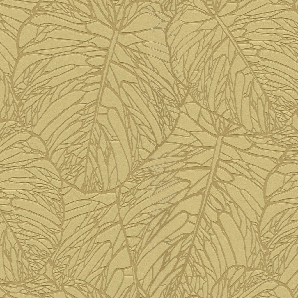 Tropical Leaves Floral Wallpaper RASCH STOCK by Marshalls
