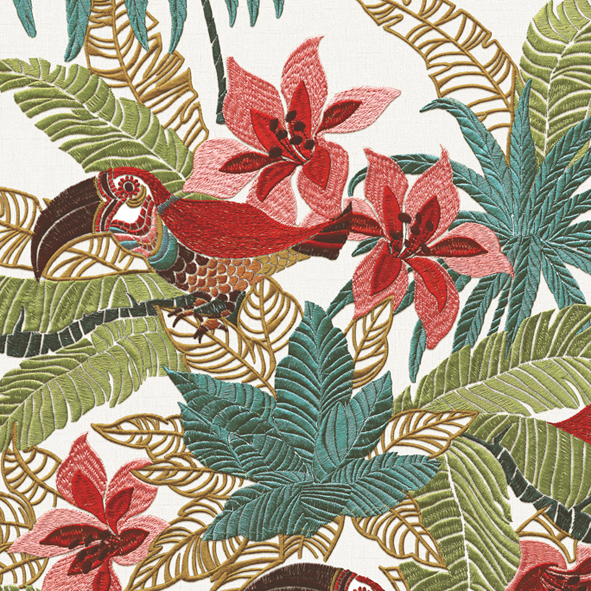 Tropical Forest Floral Wallpaper Walltex by Marshalls