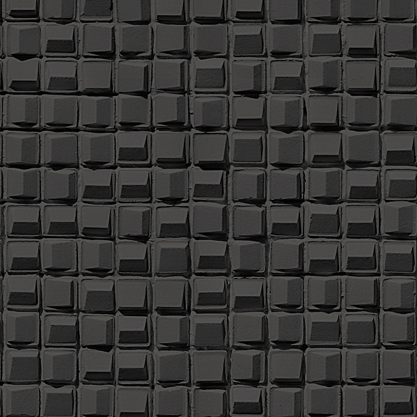3D Cube pattern Black Wallpaper Walltex by Marshalls